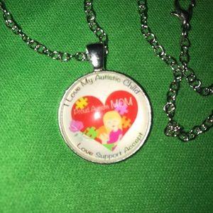 Jewelry - BUNDLE 3=$24 I LOVE MY AUTISTIC CHILD Necklace